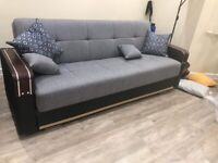 BRAND NEW TURKISH 3 SEATER MALTA SOFA AVAILABLE IN 2+1 SEATER SET