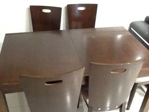 Dining table with 6 chairs Guildford West Parramatta Area Preview