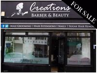 Hair & Beauty Salon For Sale