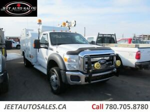2012 Ford F-550 XLT 4X4 Service truck