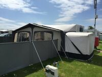 Coveva Windbreaks - keep dogs or children inside your pitch safely around a caravan