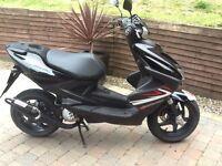 Yamaha Aerox 50cc moped scooter