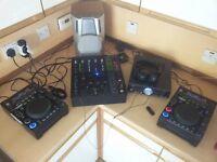 citronic cd decks and mixer