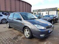 **CHEAP AUTOMATIC** FORD FOCUS ZETEC AUTO 1.6 (2004) - 3 DOOR - LONG MOT- 2 KEYS - HPI CLEAR!