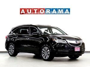 2015 Acura MDX TECH PKG NAV BACKUP CAM LEATHER SUNROOF 7 PASS 4W