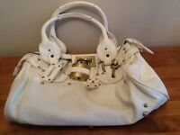 White Chloe style handbag