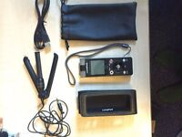 Olympus Digital Voice Recorder DM-670 (+ microphone, cable and case)