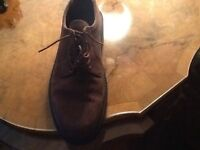 Men's HOTTER Brown suede shoes.