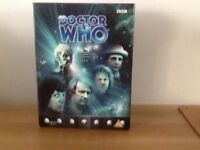 Dr Who The Davros Collection vhs tapes limited addition no 04948