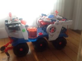 IMAGINEXT BATTLE ROVER SPACE TRUCK