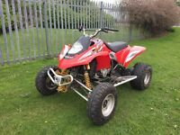 **2004/54 Gas Gas Wild HP 450 Road Legal Quad Bike Spares Or Repairs - Not Raptor Ltz LTR Yamaha**