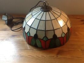 Tiffany Lamp....colourful attractive....ceiling hanging.