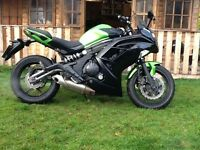 KAWASAKI EX 650 FCF ABS P/X WELCOME CASH EITHER WAY