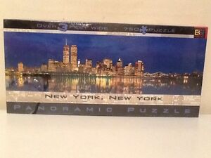 NEW YORK, NEW YORK, PANORAMIC PUZZLE 'BRAND NEW' SEALED!! Pascoe Vale Moreland Area Preview