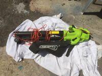 Draper 3000W 3-in-1 Garden Vacuum, Leaf Blower and Mulcher