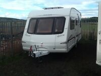 2005 swift charisma 555 fixed bed 4 berth