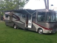 American motorhome, low mileage and in great condition