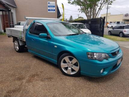 2007 Ford Falcon BF MKII XR6 4.0L 6 CYL C/Chassis Ute - AUTO Waratah Newcastle Area Preview