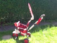Smart trike dream 4-in-1 red