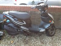 If the ad is still here still for sale/PGO t-Rex 125 scooter 09 reg