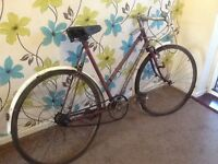 1961 vintage sun mist ladies racer.tidy it or restore or fixie
