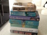 Selection of books to clear the lot £2.50