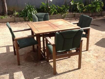 5 Piece Outdoor Table And Chairs Part 5