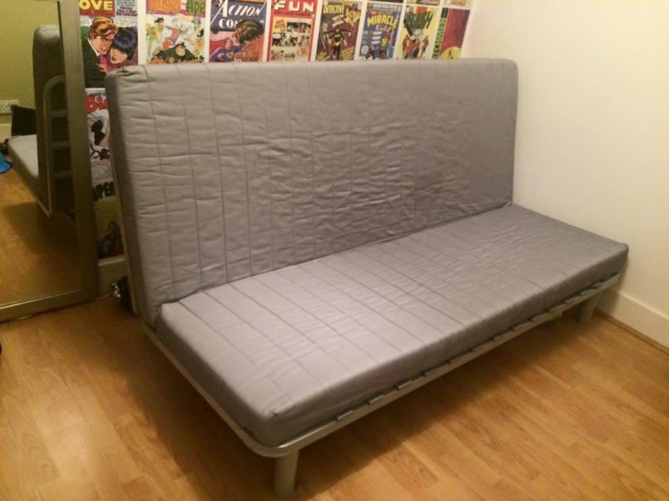 Attirant Ikea BEDDINGE LOVAS 3 Seater Sofa Bed, Good Condition