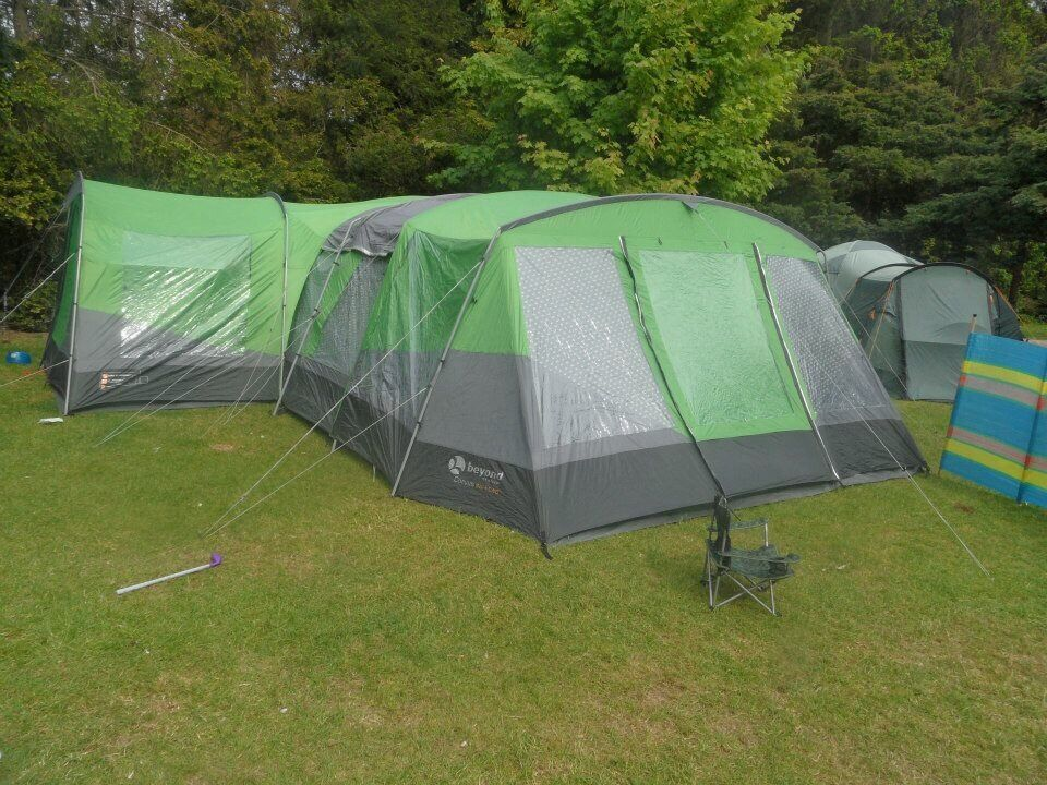 Gelert Corvus 6+2 tent with end and side porch & Gelert Corvus 6+2 tent with end and side porch | in Martlesham ...