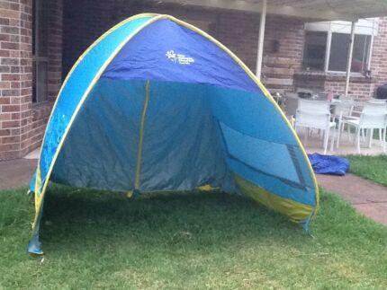 Beach tent large Cancer council sun shade / tent & Brand new beach tent beach umbrella | Miscellaneous Goods ...