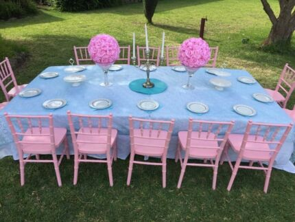 Kids Tiffany chairs for hire & $5 ex.GST - CHEAPEST HIRE - Tiffany Bar Chair Hire Sydney | Party ...