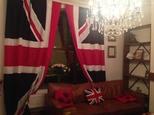 High Quality Union Jack Curtains