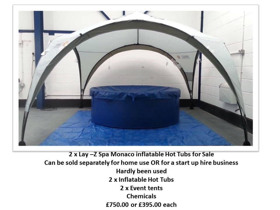 Inflatable Monaco Hot Tub with events tent for sale £395  sc 1 st  Gumtree & Inflatable Monaco Hot Tub with events tent for sale £395 | in ...