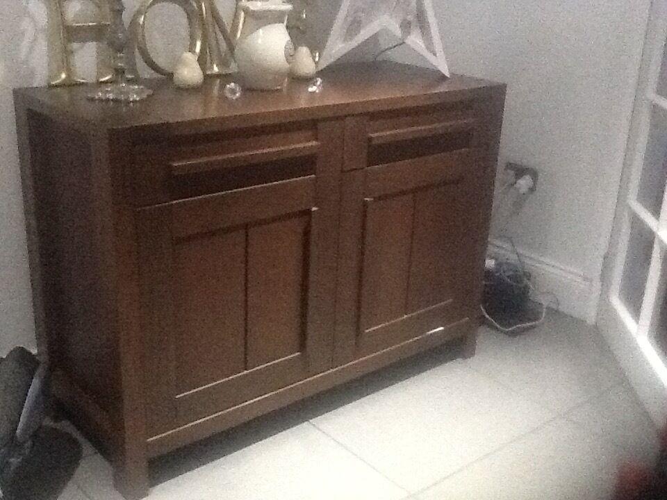 2 Door Sideboard Furniture   Marks U0026 Spencer Sonoma Dark Range
