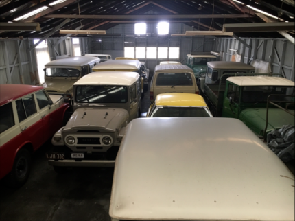 Toyota Landcruiser FJ Collection Range $30,000 -$100,000 each car