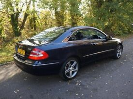 CLK 270 coupe
