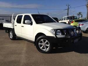 NISSAN NAVARA ST CREW CAB 4X4 TRAYBACK MANUAL Webberton Geraldton City Preview