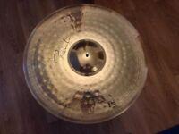Paiste signature cymbals