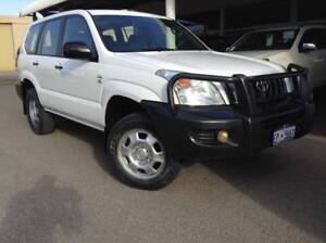 2008 Toyota LANDCRUISER PRADO GX 4X4 WAGON MANUAL