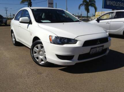 2008 Mitsubishi Lancer ES Sedan AUTO Webberton Geraldton City Preview