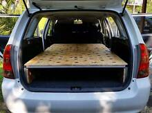 Custom folding car camper conversion system for wagon or van Ocean Shores Byron Area Preview