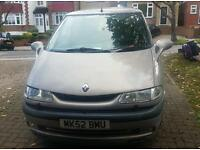 Renault espace the race 2.2 turbo diesel seven seater