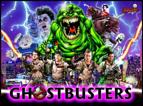 Ghostbusters Pinball Alternate Translite
