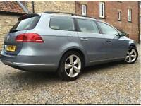Volkswagen vw passat estate bluemotion diesel LOW MILES & MPG £20 TAX a year