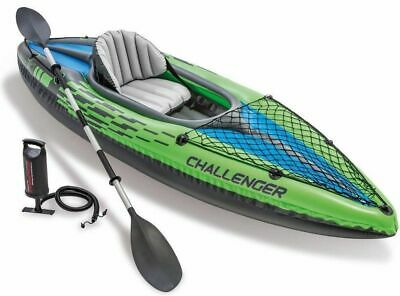 Canoa Kayak gonfiabile Intex 68305 Challenger K1 mare lago tender canotto