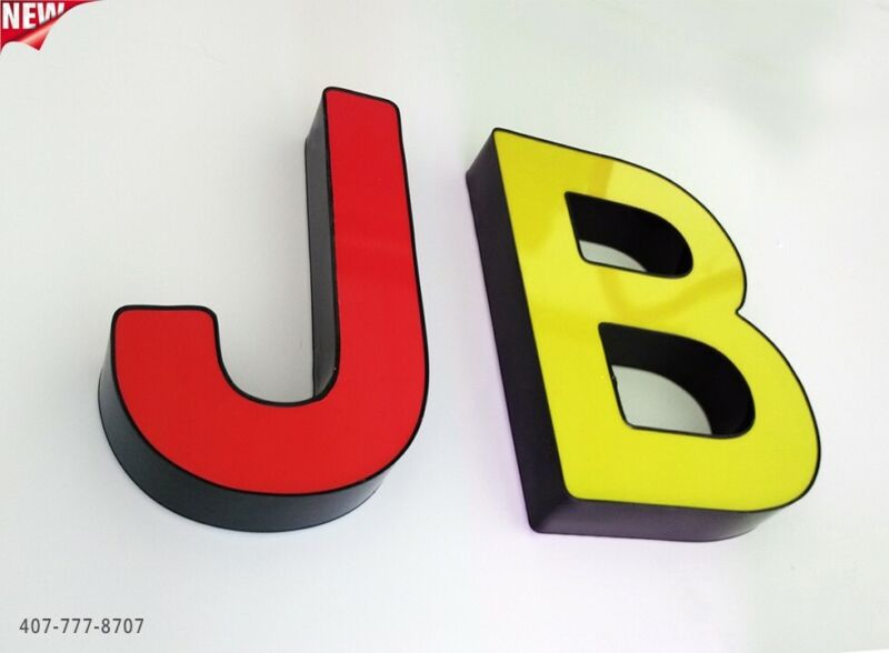 """New Channel Letter 24"""" - WATERPROOF AND DUST PROOF - Custom made"""