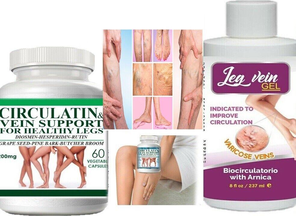 Mejores pastillas tratamiento para las venas en las piernas varices kit completo