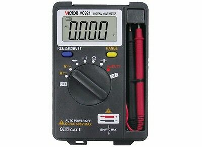 Vc921 3 34 Pocket Digital Multimeter Mini Tiny Small