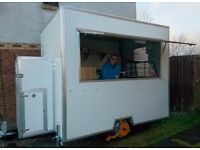 Catering Trailer, walk-in condition, 1 year old in Jan, very clean, top of the range equipment