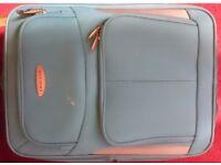 Chicane small/medium blue travel suitcase